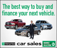 Enterprise car sales - the best way to buy and finance your next vehicle
